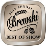 2015 Brewski Awards Platinum Best of Show